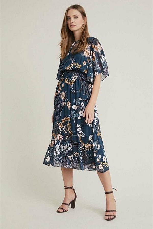 Floral Midi Dress Australia