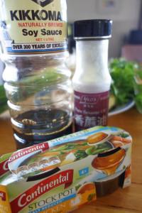 Winter Warmer Soup Ingredients