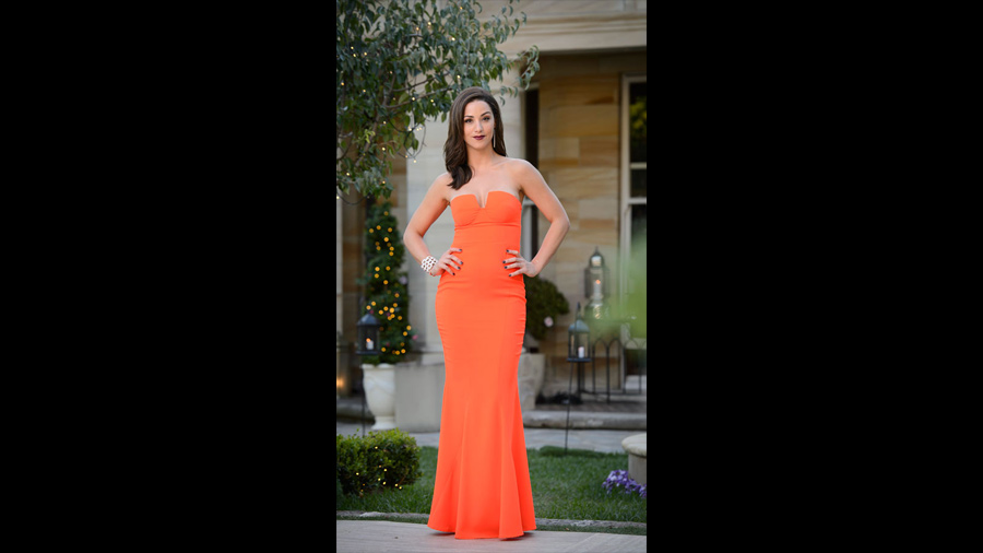 The top 5 best dressed the Bachelor Australia 2015 Jacinda - with Forty Up