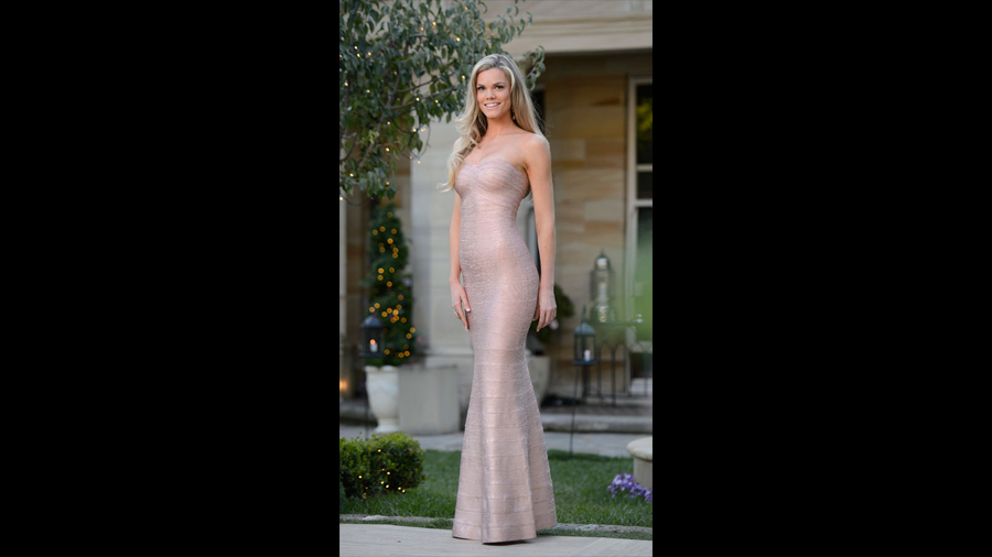 The top 5 best dressed the Bachelor Australia 2015 Krystal - with Forty Up