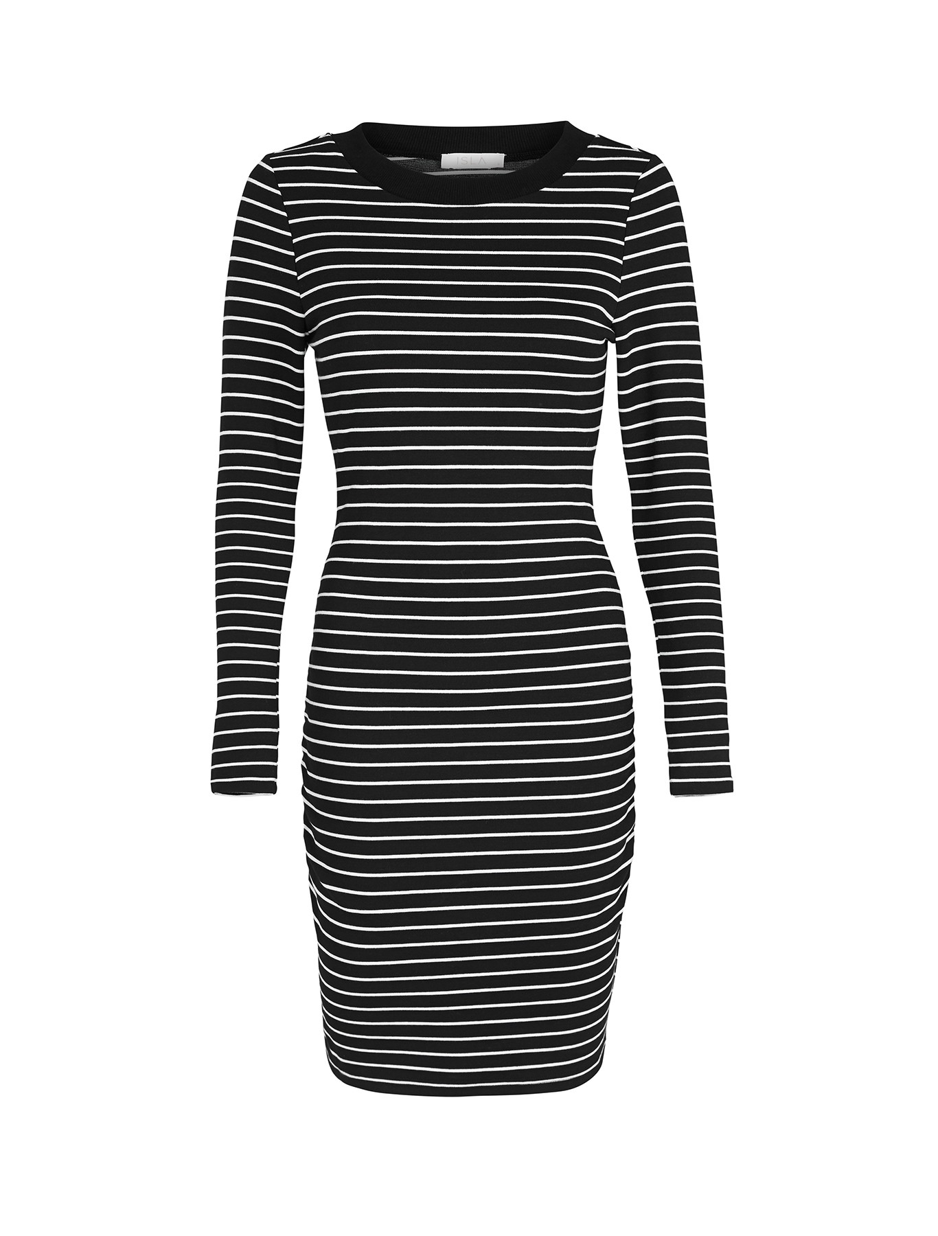 The got to have dress - LaFemme Rouche Midi Dress with Forty Up