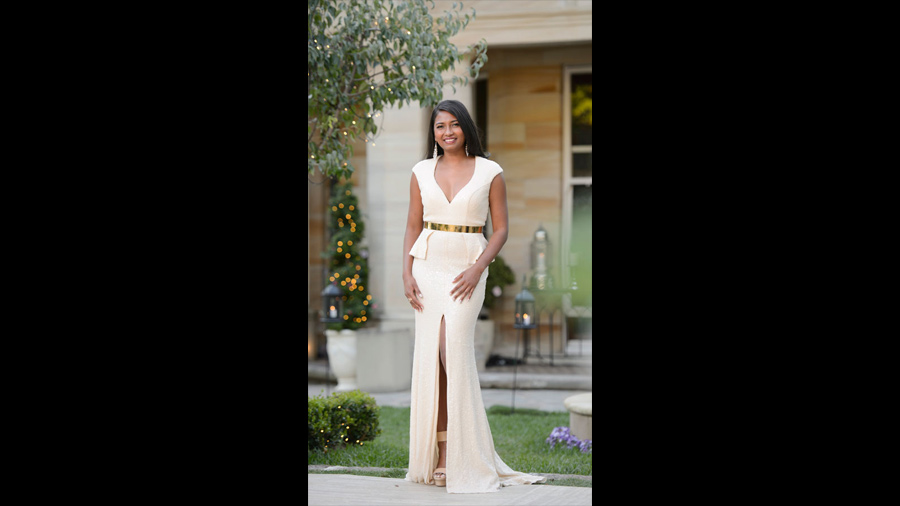 The top 5 best dressed the Bachelor Australia 2015 - Reshael with Forty Up