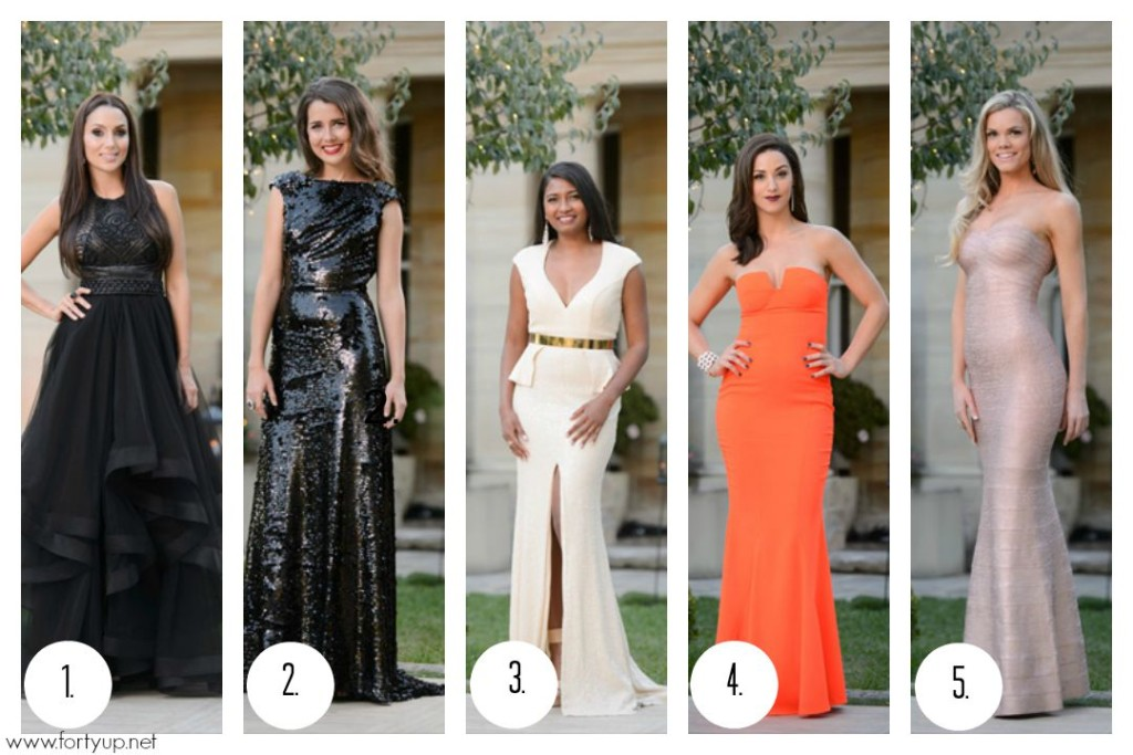 The Bachelor Top 5 Best Dressed
