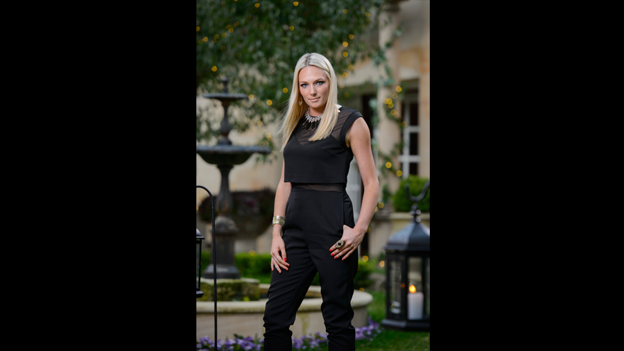 The Bachelor Fashion Australia 2015 - Sarah Jumpsuit with Forty Up