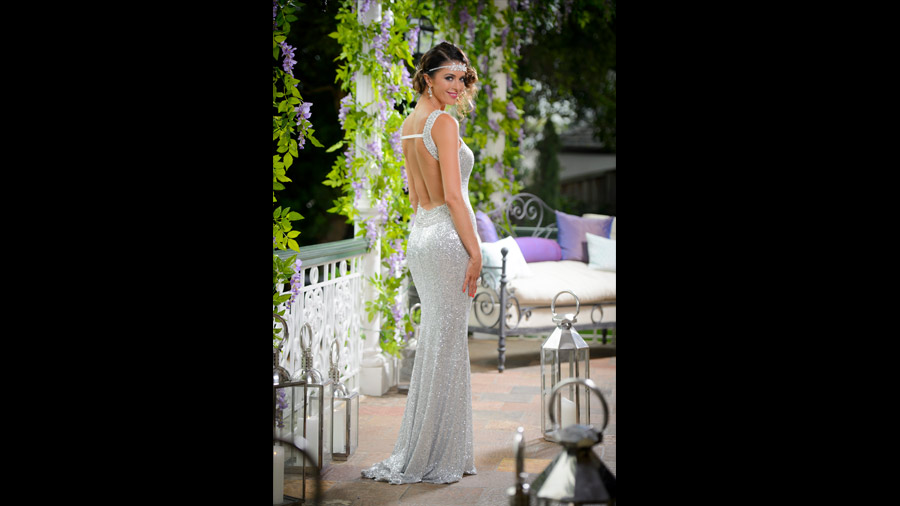 Emily The Bachelor Fashion Australia 2015 with Forty Up