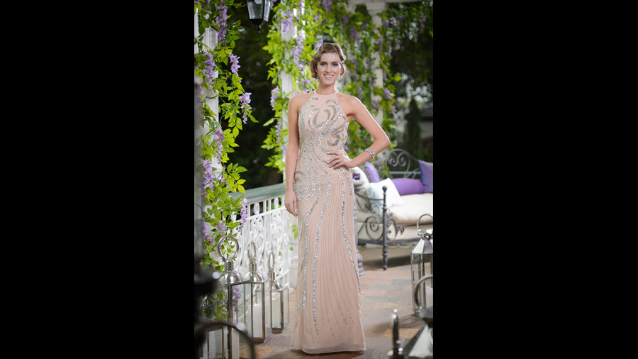 Madeleine The Bachelor Fashion Australia 2015 with Forty Up