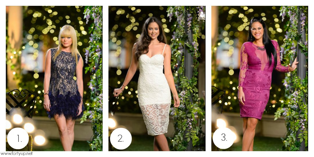 The Bachelor Australia Rose Ceremony dresses