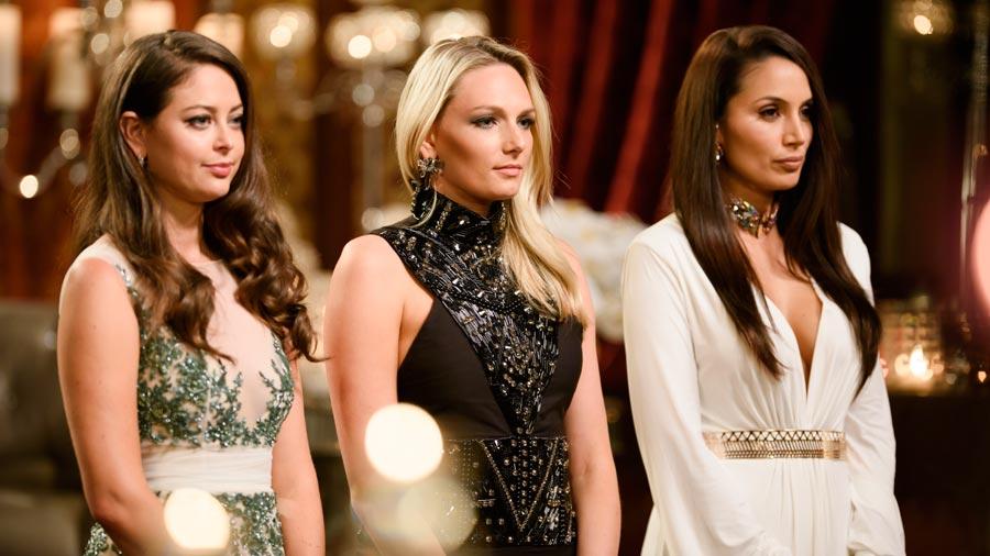 The Bachelor Australia Rose Cermony dresses