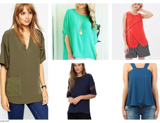 Block Colour Tops Under $100