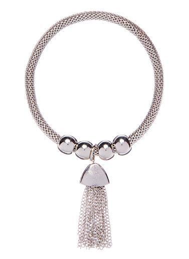 Seed Bead & Tassel Bracelet