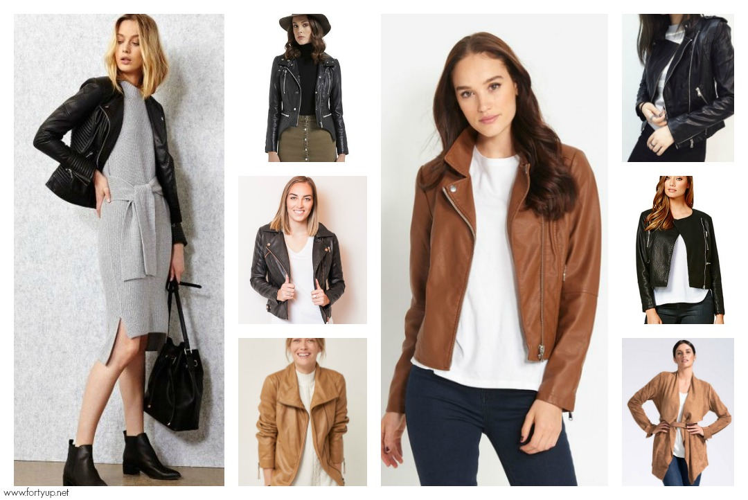 5fbbc4174 Leather Looks Luxe to Less