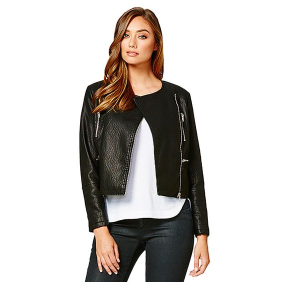 Leather Jacket Target