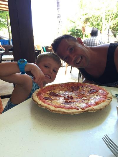 Pizza in Bali