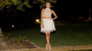 Olena the bachelor dress