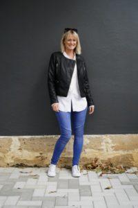 Forty Up Biker Jeans