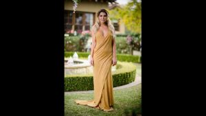 Kiki gold dress the bachelor