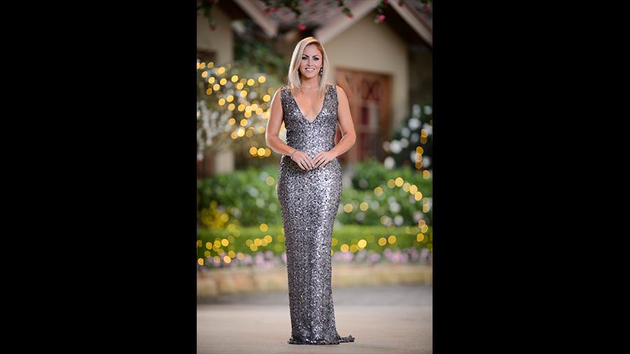 Nikki silver dress the bachelor