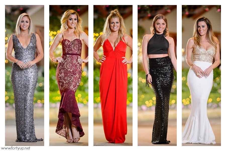 The Bachelor Australia dress