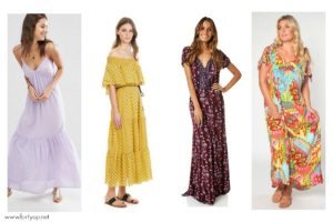 Colourful Summer Maxi Dresses