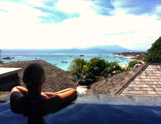 Accommodation with a view Nusa Lembongan