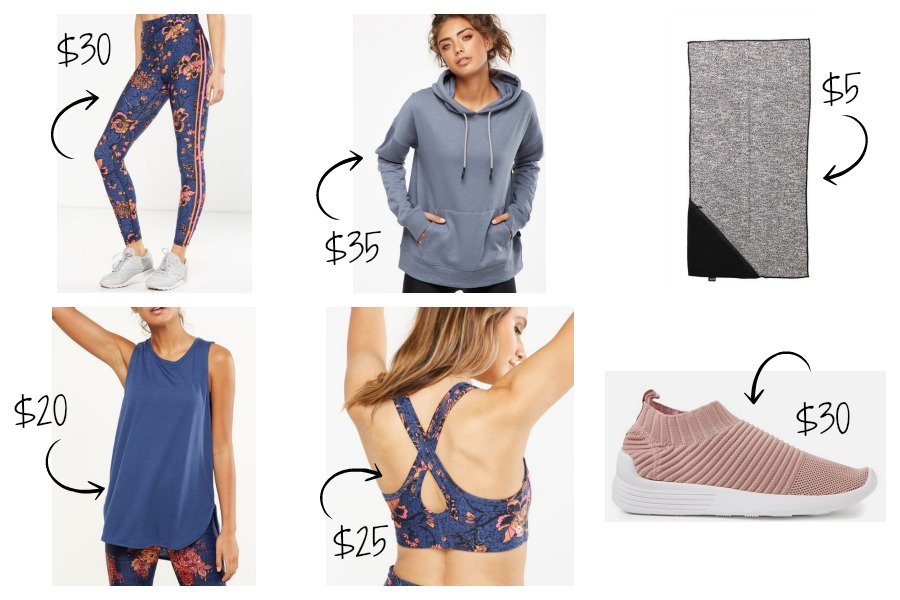 Luxe to Less Active Wear
