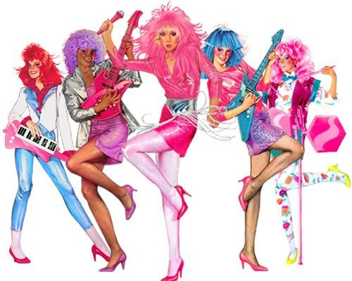 Jem and the Holograms 80s Icon