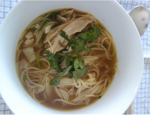 Beat the Cold & Flu Soup
