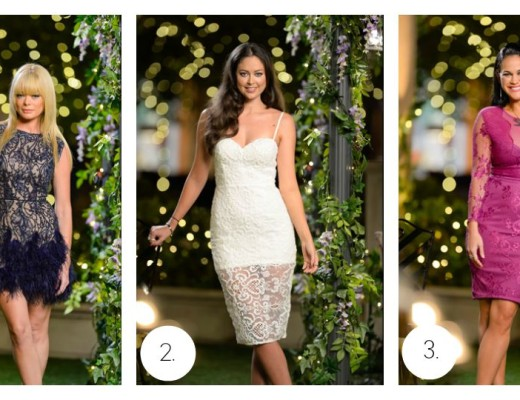 The Bachelor Australia Rose Ceremony dresses